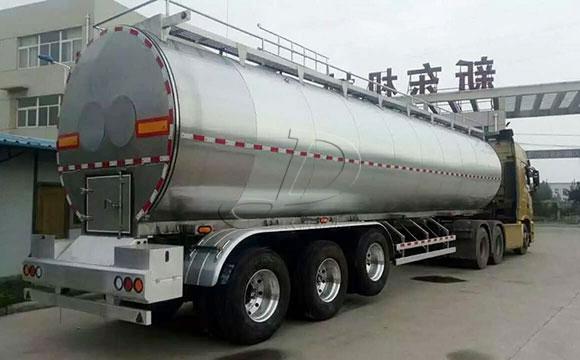 40吨半挂牛奶运输车