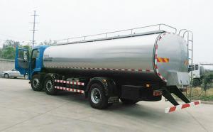 东风天锦3轴16吨车罐一体鲜奶车