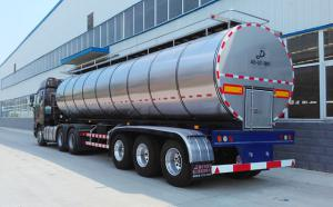 40吨3轴半挂奶罐车