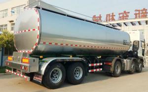 东风天龙25吨2轴半挂鲜奶运输罐车