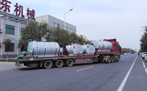 四川客户订购的四台6吨牛奶<a href=/ target=_blank class=infotextkey>制冷罐</a>顺利发货