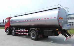 东风天锦15吨车罐一体运奶罐车