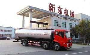 云南郭经理17m³车罐一体运奶车今