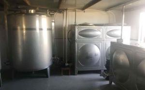 新东机械牛奶速冷系统云南客户现场