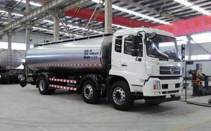 山东客户订购的16立方奶罐车生产完