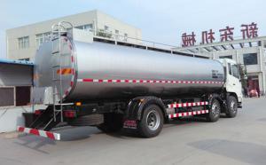 東風18噸乳品公司拉奶專用罐車