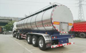 鮮牛奶運輸專用不銹鋼半掛罐車