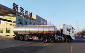 河南濟源客戶在我公司訂購的34噸拉