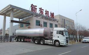 馬鞍山某物流公司在我司訂購的40噸