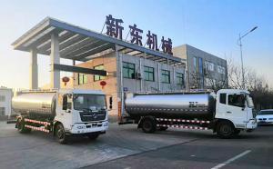 陕西知名乳企订购的两台东风天锦51