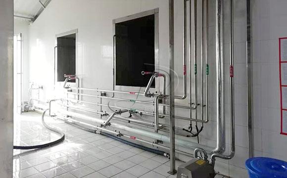 奶廳CIP清洗系統