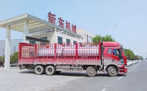 周口客戶訂購的6噸/8噸鮮奶制冷罐今日發貨