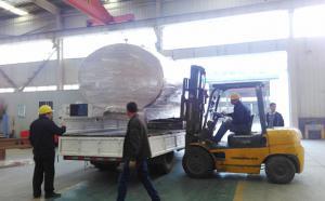 云南老客户订购的6吨分体式直冷式