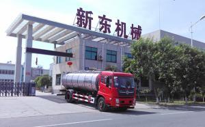 河北客户订购的10吨牛奶运输罐车今