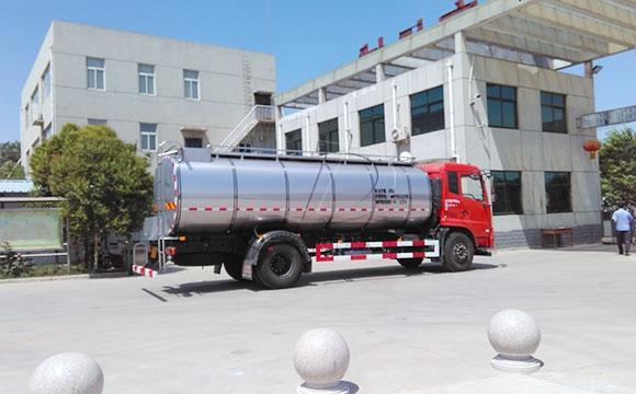 鲜奶运输液罐车