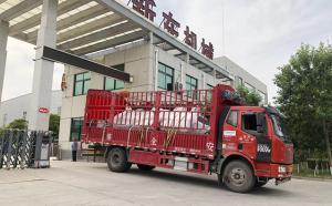 甘肅客戶訂購的兩臺3噸牛奶制冷罐如期發貨