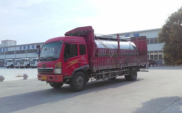 10吨鲜奶运输罐