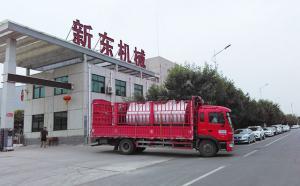 山东客户在我公司订购的10吨制冷罐