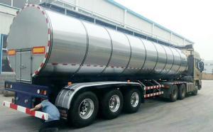 内蒙古34立方半挂鲜奶冷藏运输车顺利提车