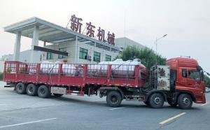 甘肃老客户订购的两台6吨牛奶制冷