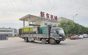 新东机械卧式tmr饲料搅拌机及撒料