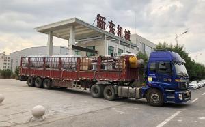 新疆客户订购的6吨制冷罐及鱼骨式