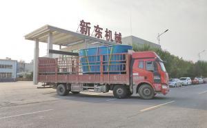 15立方大型立式牛饲料搅拌机发往河南济源