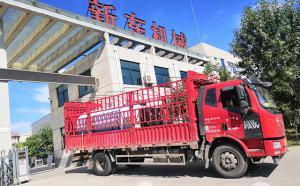 陕西客户订购的6吨直冷式不锈钢奶