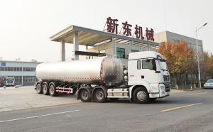 物流拉奶专用40吨鲜牛奶罐装车发往