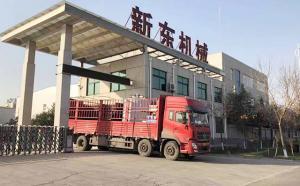 我公司3吨立式鲜奶制冷罐发往天津