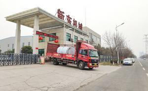 我公司生产的3吨保温运输罐发往河