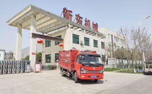 我公司SCR鱼骨式高配挤奶机发往河南焦作