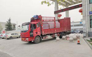 鄭州鐵路局訂購的3噸不銹鋼保溫儲