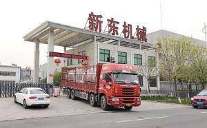 陕西客户订购的两台6吨牛奶制冷罐下午发货