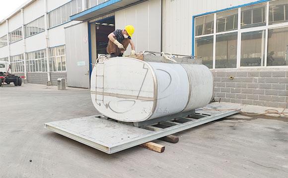 5噸鮮奶保溫運輸罐