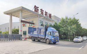 河南安阳挤奶机改造项目设备就绪按时发货