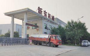 山東某牧場訂購的10噸不銹鋼運輸奶