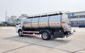東風多利卡7T不銹鋼鮮奶保溫運輸車