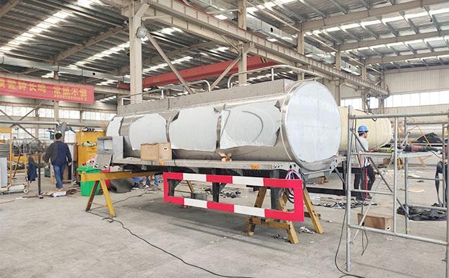 5吨牛奶运输罐