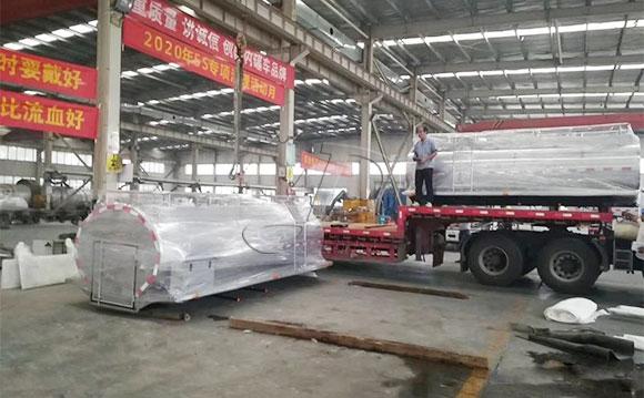 5噸不銹鋼鮮奶運輸罐