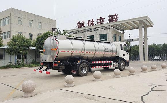 牛奶一体罐运输车