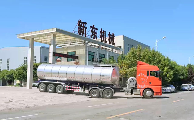 34噸半掛<a href=http://www.afroinvestors.com/product/xiannaiche/ngc_df_18t.html target=_blank class=infotextkey>奶罐車</a>