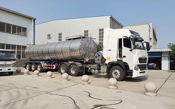 34吨鲜奶半挂运输车