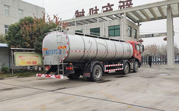 國六10噸運輸鮮奶罐車