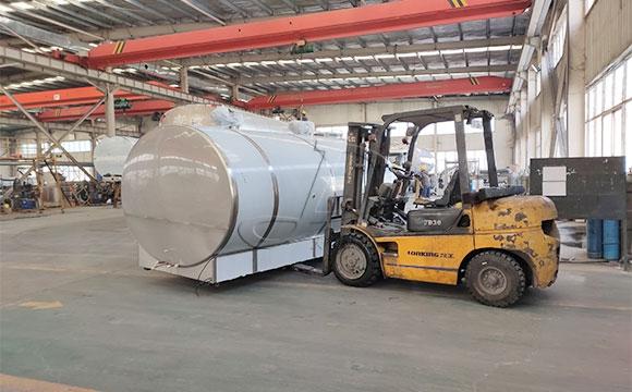10吨猪血制冷罐