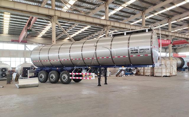 35吨半挂<a href=http://ahlowheel.com/product/xiannaiche/ target=_blank class=infotextkey>鲜奶运输车</a>