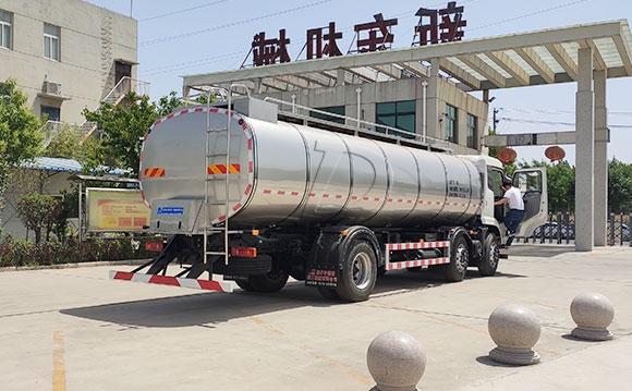國五奶罐一體車