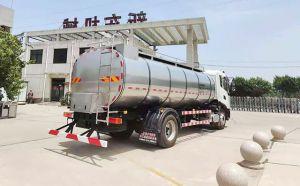 我公司東風天錦2軸國六奶罐車發往