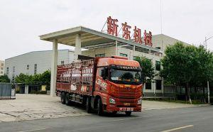 甘肃某牧场订购的2台6吨牛奶制冷罐
