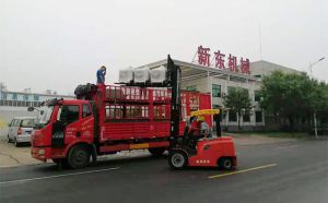 青海客户订购的30台小型牦牛奶制冷